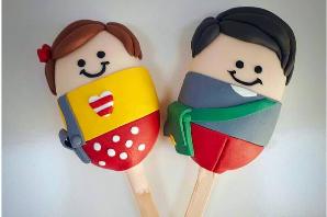 Decorative Popsicakes