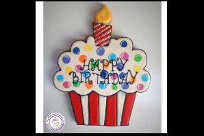 Birthday Themed Cookies