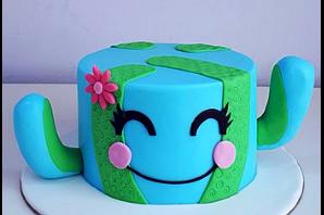 Cake Pot/Plant Theme