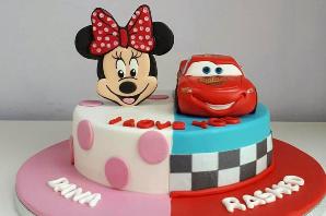 Double Birthday Cakes