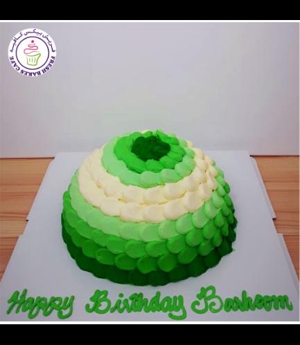 Cake - Colors - Multicolors - Cream Piping