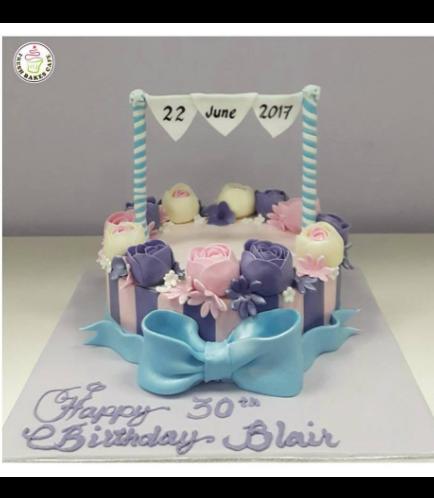 30th Birthday Themed Cake 03