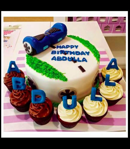 Air Board Themed Cake