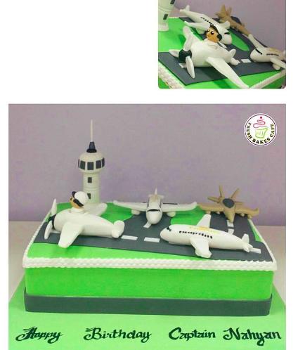 Pilot Themed Cake 01