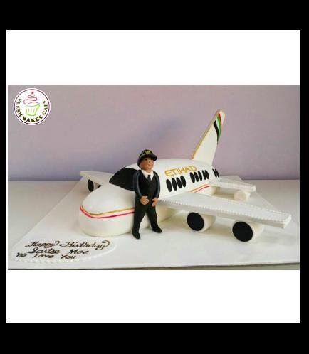 Pilot Themed Cake 02
