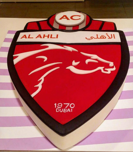 Football Themed Cake - Al Ahli
