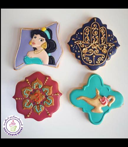 Aladdin Themed Cookies
