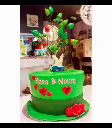 Alice in Wonderland Themed Cake 01