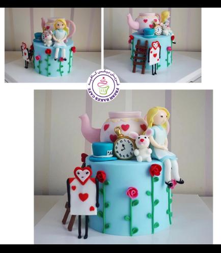 Alice in Wonderland Themed Cake 04