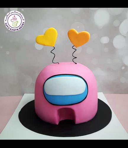 Cake - Among Us - 3D Cake