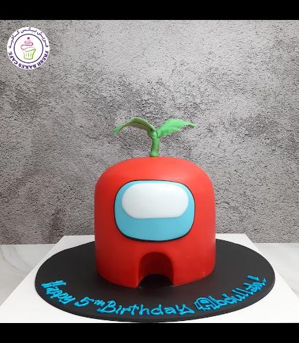 Among Us Themed Cake - 3D Cake