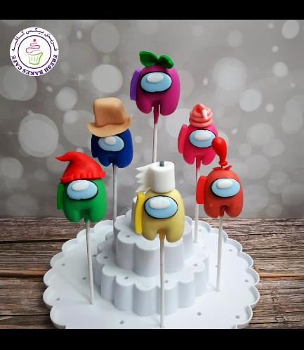 Among Us Themed Cake Pops 03