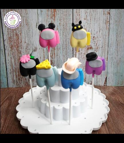 Among Us Themed Cake Pops 04