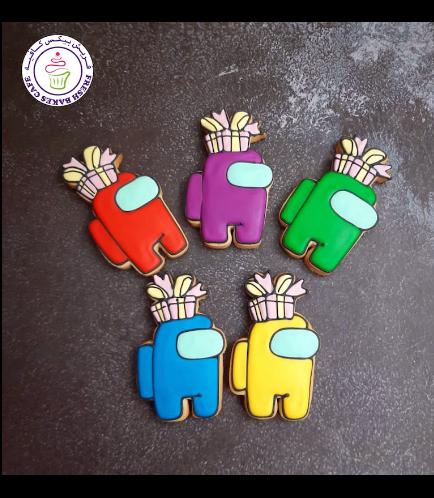 Among Us Themed Cookies - Gifts