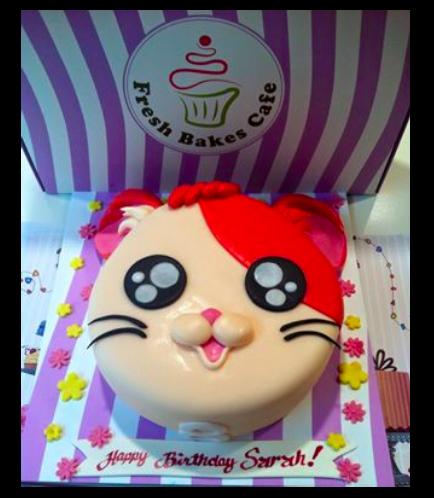 Hamster Themed Cake 1