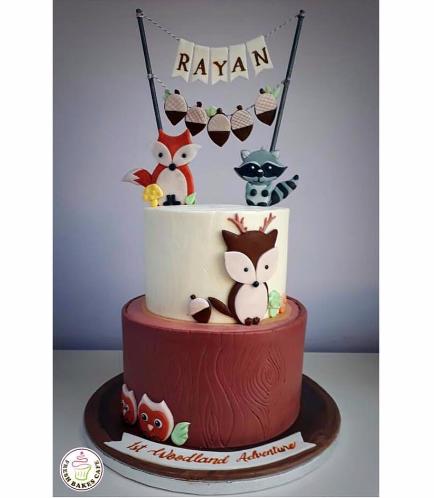 Animals Themed Cake 04