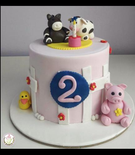 Animals Themed Cake 03