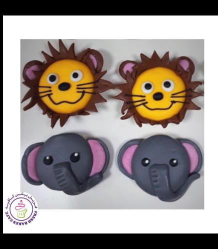 Animals Themed Chocolate Covered Oreos - Jungle Animals 01
