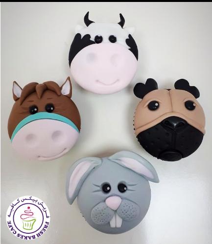 Animals Themed Cupcakes - Farm Animals 02