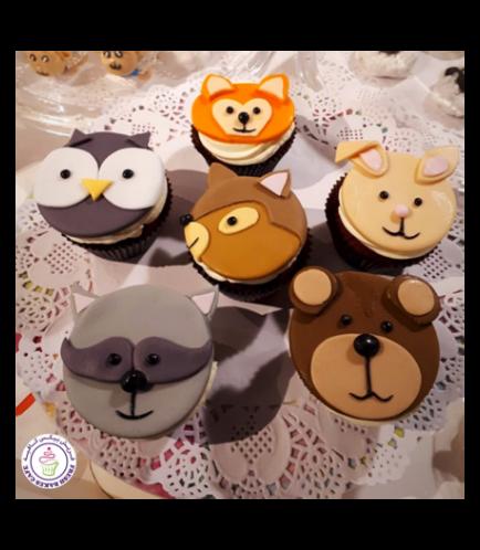 Animals Themed Cupcakes 2