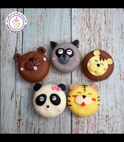 Animals Themed Donuts - Jungle Animals 01