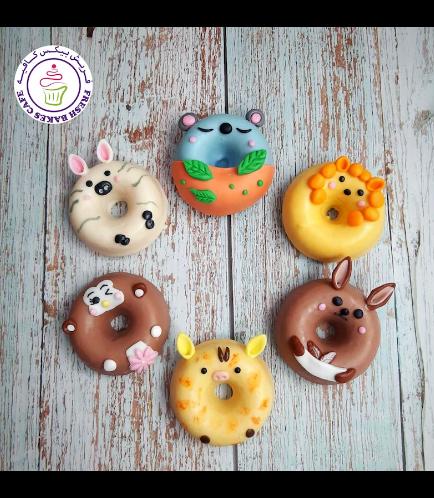 Animals Themed Donuts - Jungle Animals 02