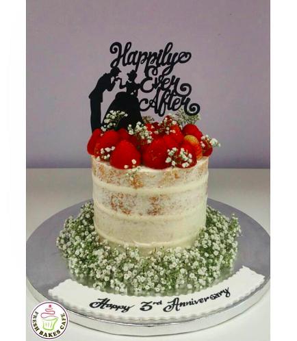 Cake - Naked Cake & Strawberries