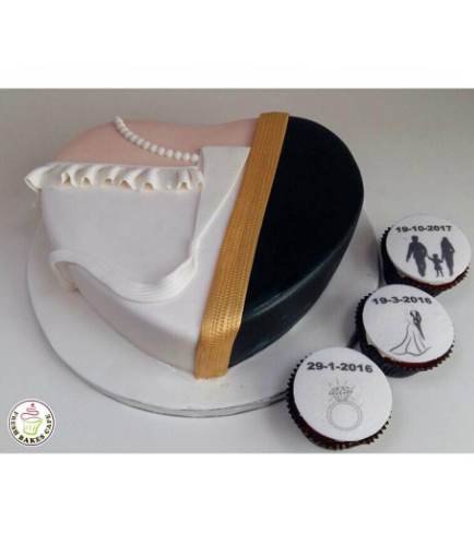 Kandora & Wedding Dress Themed Cake