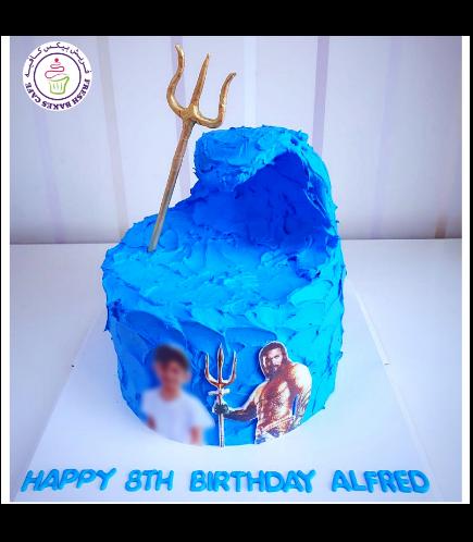 Aquaman Themed Cake