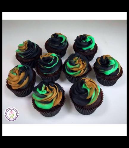 Cupcakes - Army Camo 03