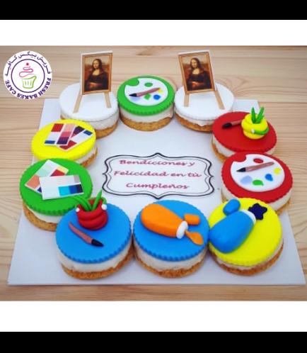 Art Themed Donuts