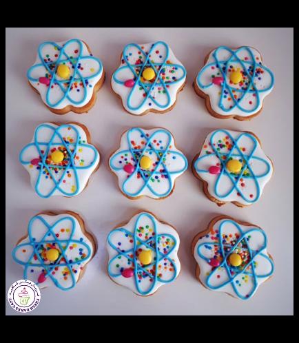 Atom Themed Cookies