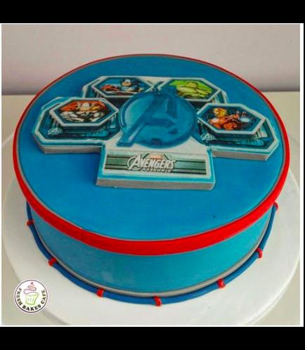 Avengers Themed Cake 02
