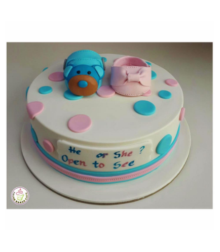 Cake - Baby Booties 01