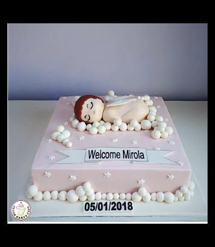 Baby Shower Themed Cake 10b