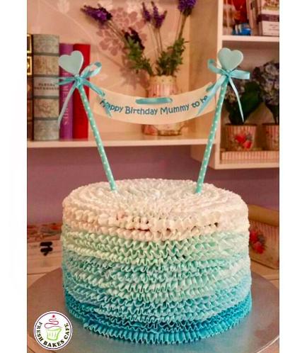 Cream Ruffle Cake 03