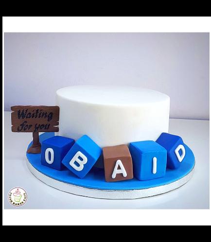 Cake - Baby Shower - Building Blocks