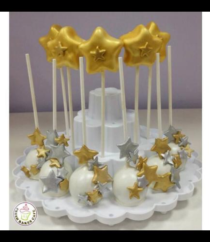 Cake Pops - Stars 02