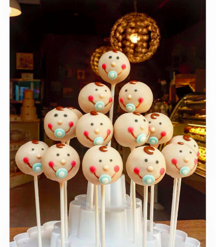 Baby Shower Themed Cake Pops 4