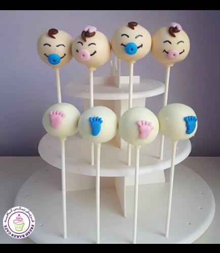 Baby Shower Themed Cake Pops 6