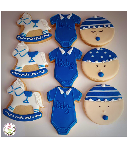 Cookies - Baby Shower - Boy 06