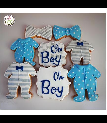 Cookies - Baby Shower - Boy 07