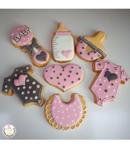 Cookies - Baby Shower - Girl 02