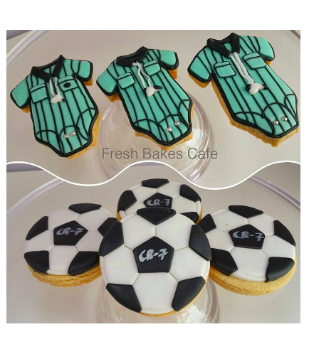 Cookies - Baby Shower - Football