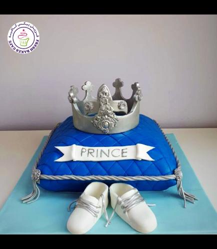 Cake - Baby Shower - Prince