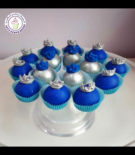 Cake Pops w/o Sticks - Crown