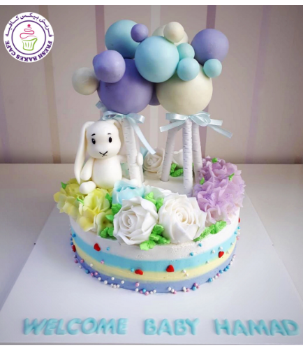 Baby Shower Themed Cake 46