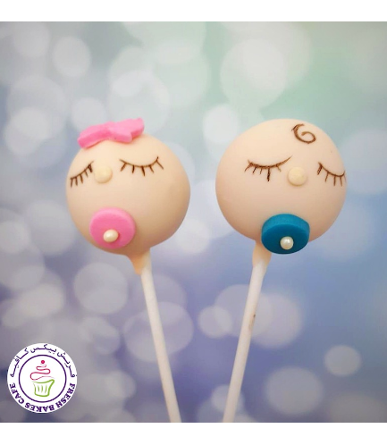 Cake Pops - Baby Shower - Boy & Girl 02
