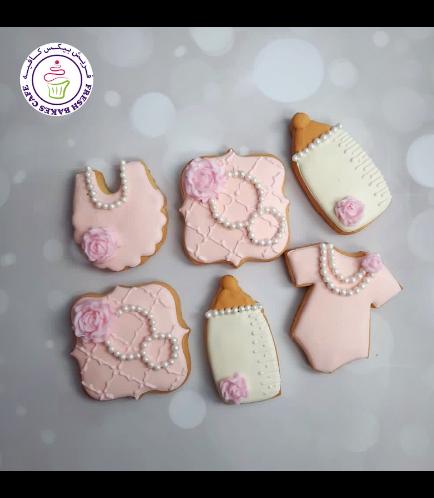 Cookies - Baby Shower - Girl 07