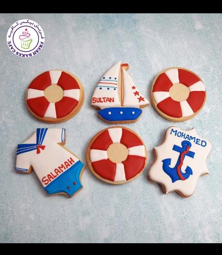 Cookies - Baby Shower - Nautical